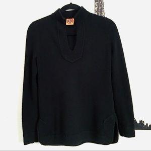 Tory Burch Black Cashmere Sweater